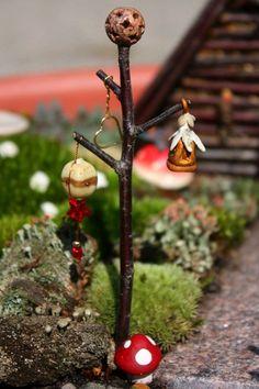A most delightful fairy garden tour!