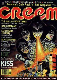 KISS Magazine Covers - Creem Magazine