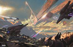 ArtStation - Halo Book Illustrations, David Heidhoff