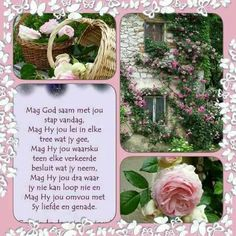 Mag God Monday Blessings, Morning Blessings, Good Morning Wishes, Good Morning Quotes, Lekker Dag, Best Quotes, Life Quotes, Evening Greetings, Bible Study Notebook
