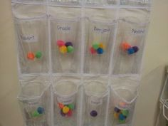 Nice bucket filling system. The clear cups will give continual visual feedback.