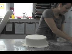 HOW TO MAKE A DUMMY CAKE! Shauna Austin, owner of City Girl Cakes in Dartmouth, shows Rebecca Spence how to put together a dummy wedding cake out of Styrofoam and fondant.