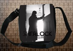 SHERLOCK BBC Sherlock Silhouette  NEW Small by ConsultingFanGeeks, $26.99