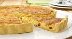 Receitas de Massa de Quiche - A tradicional - Muito fácil de fazer! Quiches, Quiche Lorraine, Food Design, Food Art, Macaroni And Cheese, Buffet, Bakery, Good Food, Brunch