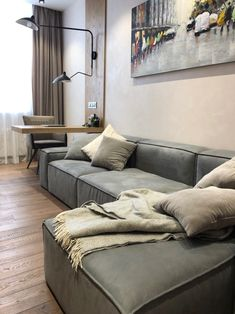 Classic High Sleeper with sofa Bed . Classic High Sleeper with sofa Bed . Interior Details Of the Modern Living Room From the Project Sofa Bed Living Room, Living Room Decor Cozy, Living Room Grey, Home Living Room, Living Room Designs, Living Room With Desk, Most Comfortable Sleeper Sofa, Comfy Sectional, L Shaped Sofa Bed