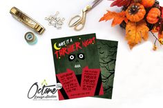 Thriller Halloween Themed Watch Party Invitation  by OctaneOnEtsy