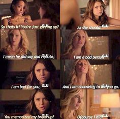 5x11 of course she did it's Caroline did you expect anything less?
