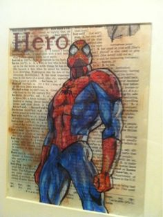 flying shoes art studio: SPIDERMAN HERO