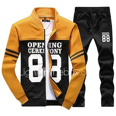 Yellow men track suit luxury brand tracksuit red sportsuits fashion me – babagala Stylish Men, Men Casual, Mens Sweat Suits, Mens Tracksuit Set, Running Suit, Track Suit Men, Man Set, Hoodie Jacket, Pulls