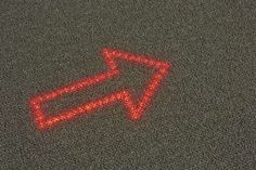 Philips developing LED-embedded carpets to replace public signs