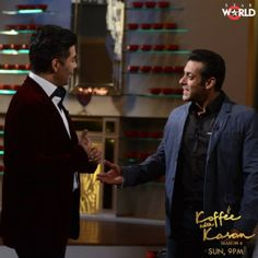 """Bollywood superstar Salman Khan finally came on Karan Johar's much talked show 'Koffee With Karan'. The 'Dabangg' Khan opened season 4 of the controversial show and it turned out to be a cracker of an episode.  Salman Khan spoke about his love life, his impeding marriage and stated that he is a 48 year old virgin. """"I'm going to save myself for the one that I get married to,"""" he insisted to a shocked Karan. http://www.newstotal.in/salman-khan-virgin/"""