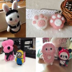 seller from ebay giving examples of what can be made - rabbit, paws, minion, sheep, panda and dog. SM Essam