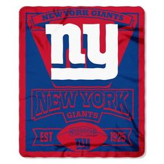 New York Giants Mug and Snug Blanket Set New York Giants Jersey, New York Giants Football, Nfl Dallas Cowboys, I Love Ny, Nfl Fans, Fan Gear, New England Patriots, Snug, Fleece Throw