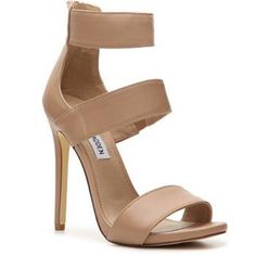 Nude Steve Madden 'Mira' Heels Brand new never worn strappy Steve Madden heels. Gorgeous for a night out with a dress, skirt, or jeans! High heel and sexy strap look Steve Madden Shoes Heels
