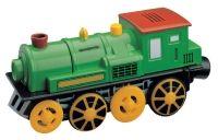 Vláček vláčkodráhy Maxim Elektrická lokomotiva- zelená