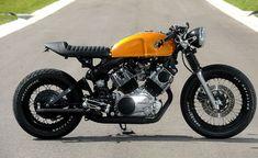 Yamaha Virago 750 Café-Racer. Os anos 70 estão de volta!