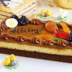 Mazurki wielkanocne - świąteczne pyszności! Sweet Recipes, Ale, Cheesecake, Birthday Cake, Easter, Sweets, Food, Merengue, Gummi Candy