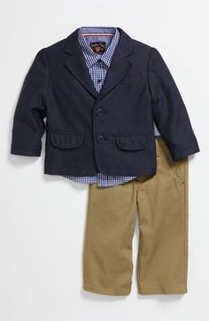 Sovereign Code 'United' Blazer, Shirt & Pants Set (Infant)   Nordstrom