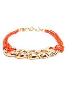 Baublebar Day Glo Chain Bracelet!