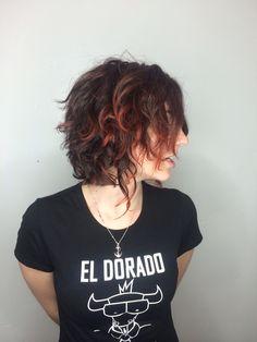 Hair cut by Alex at the lab a salon San Diego