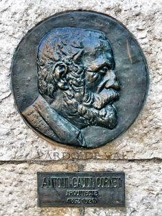 Antonio Gaudí y Cornet. MBRE: Antonio Gaudí y Cornet - Reus (Tarragona) 1852 - Barcelona, Spain 1926.