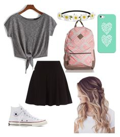 """Untitled #6"" by joliexjacques on Polyvore featuring Converse, Impulse and Casetify"