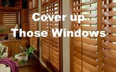 Cover Up Those Windows!