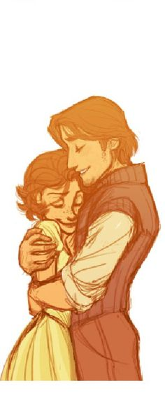 Hugging is definitely a tricky one when it comes to drawing it... I need to practice on it though!