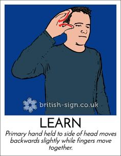 The British Sign Language or BSL is the Sign language that is used widely by the people in the United Kingdom. This Language is preferred over other languages English Sign Language, Sign Language Phrases, Sign Language Alphabet, Sign Language Interpreter, British Sign Language, Learn Sign Language, Language Dictionary, Learn Bsl, Learn To Sign