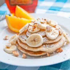 Light  Fluffy Vegan Pancakes