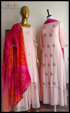For those occasions when you dress up just beacause you feel like it! All that you need to take your look from just fine to totally fabulous! An easy way to pamper yourselves this is century, is part of Indian designer outfits - Pakistani Dress Design, Pakistani Dresses, Indian Attire, Indian Outfits, Indian Wear, Kurti Designs Party Wear, Kurta Designs, Dress Designs, Indian Designer Suits