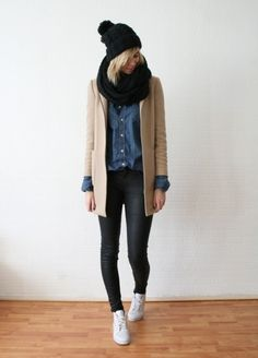 Winter Inspiration. I'd change up the shoes though.