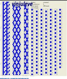 Bead crochet pattern, 6 around