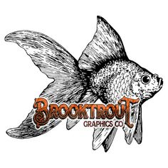 Goldfish Vector Clip Art by BrooktroutGraphicsCo on Etsy