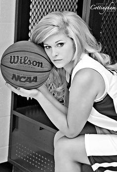 Basketball senior portraits