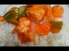 Sweet and Sour Chicken - Restaurant Style - YouTube