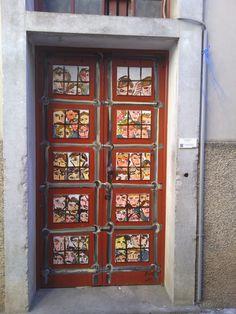 Door Art,old town Funchal,Madeira <3