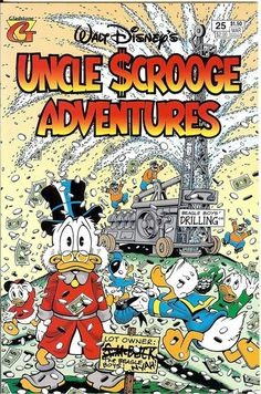 """""""The Money Well"""" by Carl Barks. Cover by Don Rosa"""