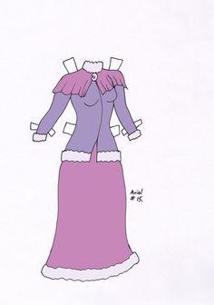 Ariel paperdoll dress #15 by Etchingz on deviantART