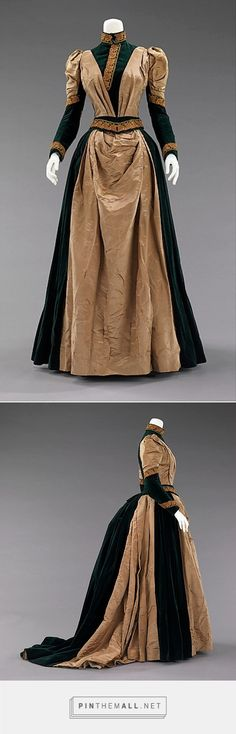 Afternoon dress 1885 American | The Metropolitan Museum of Art