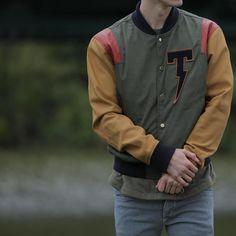 TACKMA Spring16 Varsity Available Now at www.TACKMA.com ⚡️ #TACKMA Street Wear, Mens Fashion, Instagram Posts, How To Wear, Jackets, Style, Streetwear Men, Moda Masculina, Down Jackets