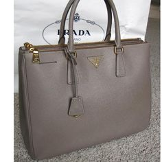 Tip: Prada Handbag (Taupe) my current obsession!