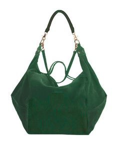 TWELFTH STREET BY CYNTHIA VINCENT Dunnaway Etched Suede Hobo