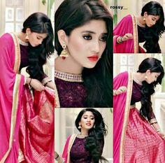 shiyangi joshi Pakistani Dresses, Indian Dresses, Indian Outfits, Indian Designer Outfits, Designer Dresses, Birthday Girl Pictures, Girls Dpz, Boys Dpz, Tashan E Ishq