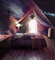 architecture home interior design house bedroom attic vaulted ceiling bohemian romantic