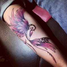 Colibri by Miss Voodoo Tatoo Love it!