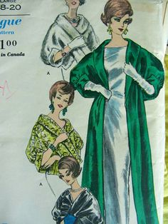 RESERVED  Vogue Pattern 5463   Easy to Make Evening by anne8865