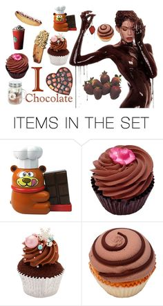 """""""Chocolate"""" by heidibartholdy on Polyvore featuring art"""
