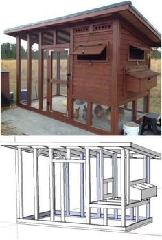 20 Free DIY Chicken Coop Plans You Can Build This Weekend #chickencoopplans #chickencooptips