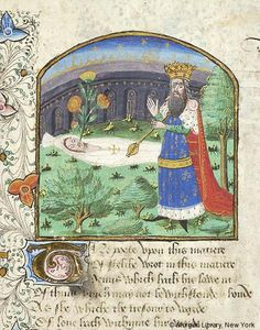 Literary, MS M.126 fol. 129r - Images from Medieval and Renaissance Manuscripts…